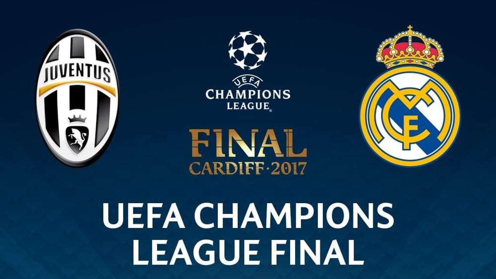 mediaset champions league juventus real madrid