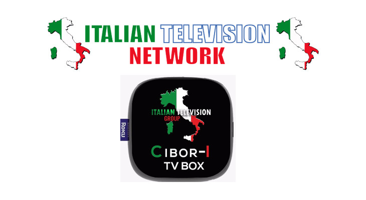 cibor-i tv box italian television network