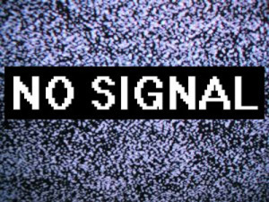no signal digitale terrestre