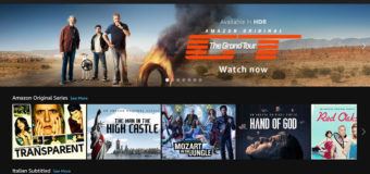 Amazon Prime Video disponibile in Italia